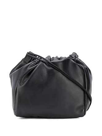 Jil Sander drawstring crossbody bag - Black