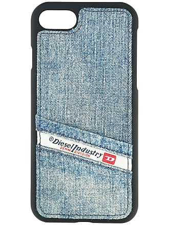 Diesel Capa para iPhone 7 Pluton - Azul
