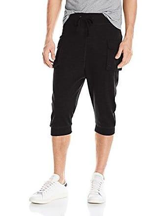 2(x)ist Mens Cargo Cropped Pant Pants, Black, Medium