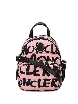 Moncler Bolsa tiracolo com logo - Rosa