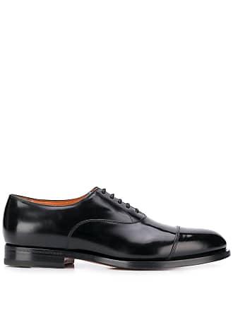 Santoni classic formal lace-up shoes - Black