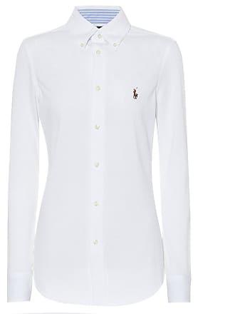 0071a9b0a2852a Polo Ralph Lauren Bluse aus Baumwollpiqué