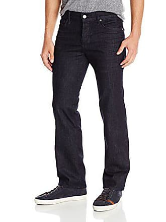7 For All Mankind Mens Standard Straight-Leg Luxe Performance Jean, Deep Well, 30W x 34L