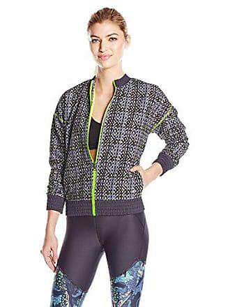Maaji Womens Seed Power Amazing Spread Reversible Running Jacket, Multi, M