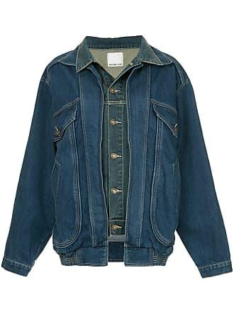 Ground-Zero Jaqueta jeans oversized - Azul