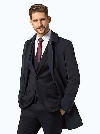 Boss herren mantel wolle
