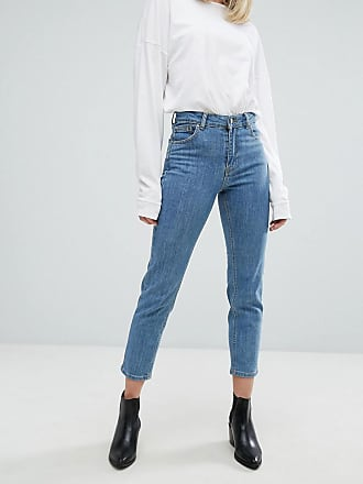 Dr. Denim Edie high waisted slim cropped jeans - Blue