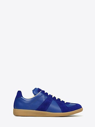 Maison Margiela Maison Margiela Sneakers Bright Blue Bovine Leather