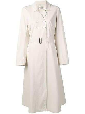 Forte_Forte double-breasted trench coat - Neutrals