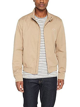 96145428ff Lacoste BH3921, Blouson Homme, Beige (Kraft), Small (Taille Fabricant: