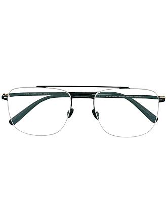 Mykita Yuuto rectangular-frame glasses - Preto