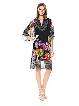 682809f2a9 Trina Turk Womens Joceline Knee Length Caftan Silk Dress, Dahlia Dell 0