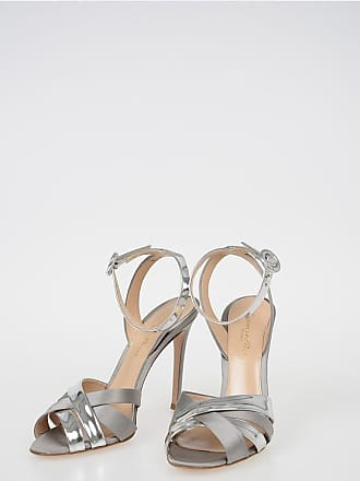 Gianvito Rossi 12cm Satin and Leather Sandals size 36,5