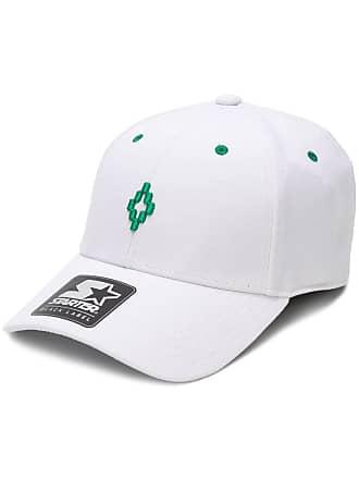 Marcelo Burlon Cappello da baseball Starter - Di Colore Bianco 92614b9ea372