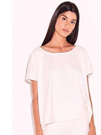 Triya T-Shirt Suede Off White-M