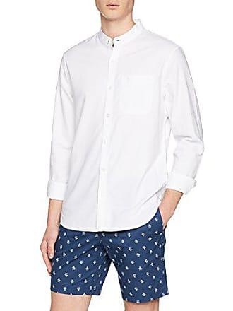 f1ebb529d33b Original Penguin Grandad, Camisa de Oficina para Hombre, Blanco (Bright  White 118)