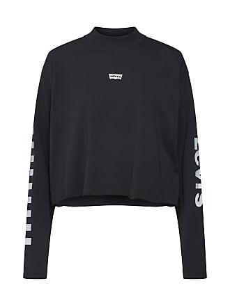 6876bc6918abf8 Levi s Shirt GRAPHIC LS MOCKNECK TEE schwarz   weiß