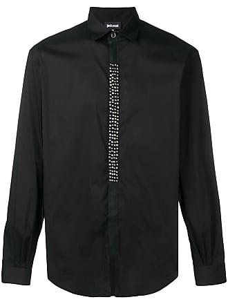 Just Cavalli Camisa com tachas - Preto