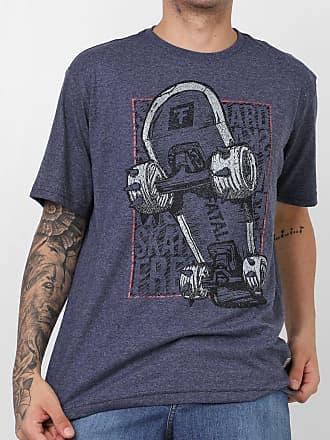 Fatal Surf Camiseta Fatal Skate Azul-Marinho