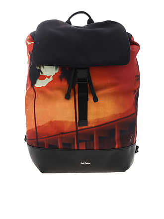 34ff5c2d3d2 Paul Smith Black backpack with Pauls Photo print