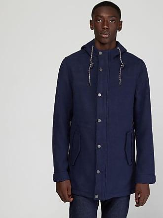 Manteau avec laine et capuche TOMMY HILFIGER