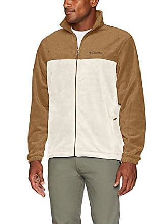 d963330bab0 Columbia Mens Steens Mountain Full Zip 2.0, Delta, Stone, XL