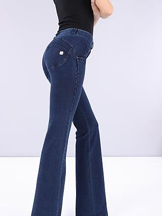 Freddy WR.UP flare regular-rise stretch denim trousers