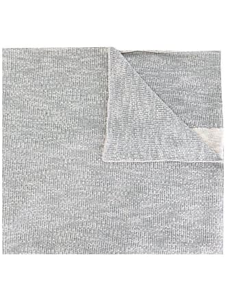 Diesel Cachecol de algodão misto - Cinza