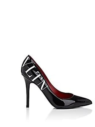 df9f2836a8a4 Valentino Womens Patent Leather Pumps - Black Size 10.5