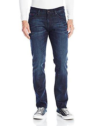 e7e37eb9acefb3 Tommy Hilfiger Denim Mens Jeans Original Scanton Slim Fit Jean, Rivington  Dark Comfort, 30x34