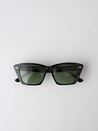 Acne Studios Ingridh Black/Yellow/Green Cateye sunglasses