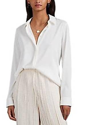 67278dbcae47c The Row Womens Petah Stretch-Silk Blouse - White Size 10