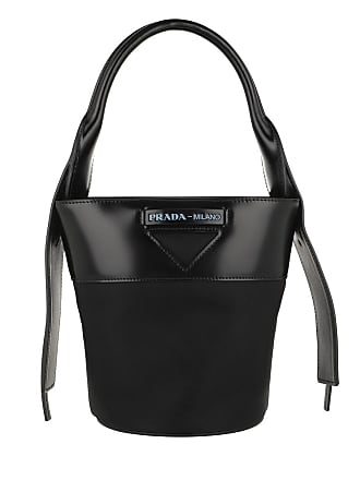 dfbec080837cb Prada Ouverture Bucket Bag Nylon Black Beuteltasche schwarz