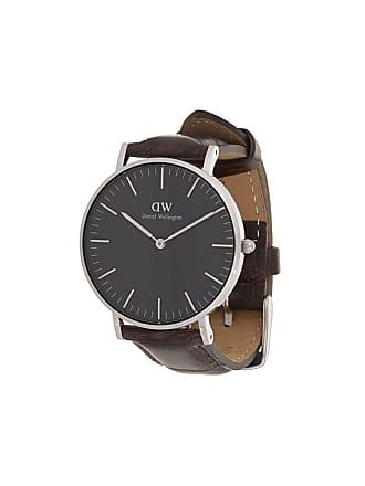 1211991d1d1 Daniel Wellington Relógio Classic York de couro - Marrom