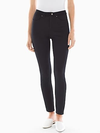 Soma Style Essentials Slimming 5 Pocket Ponte Pants Black, Size XXL