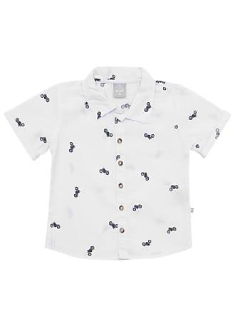 Hering Kids Camisa Hering Kids Menino Outras Off-White