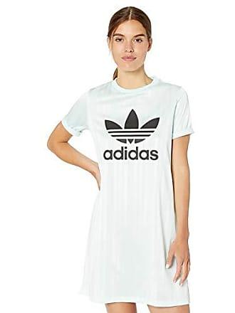adidas Originals Womens Tee Dress, ice Mint, Small