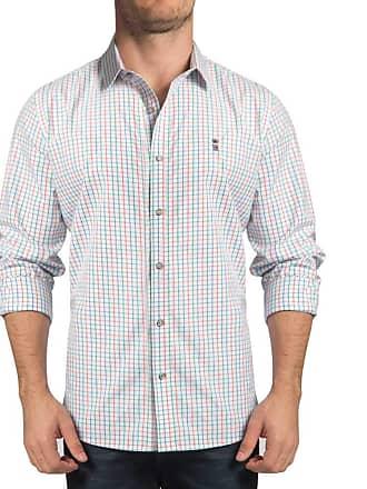 Sergio K. Camisa Essentials Multicolor Chess Branco