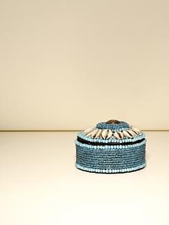 Asiatides Große blaue Schmuckschachtel mit Deckel - large | blue - Blue/Blue