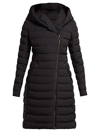 722ff89350d Moncler Barge Asymmetric Zip Quilted Down Filled Coat - Womens - Black