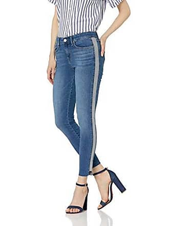 William Rast Womens Perfect Skinny Ankle Jean, Side Horizon/Cut Hem 24