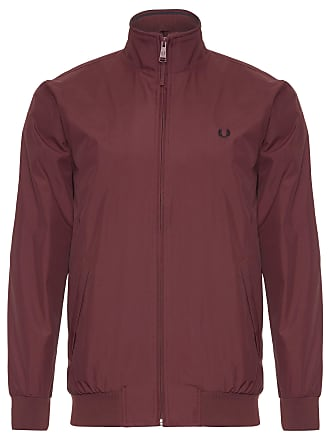 Fred Perry JAQUETA MASCULINA BRENTHAM - MARROM
