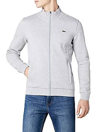 8ff9392f53 Lacoste SH7616 Sweat-Shirt, Gris (Argent Chine), XXXX-Large (