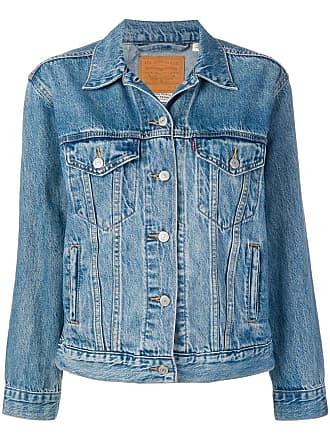 Levi's Ex-boyfriend trucker jacket - Blue