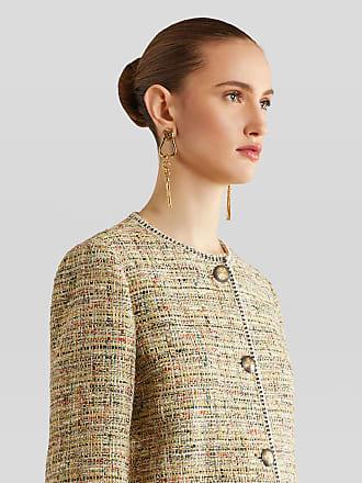 Etro Bouclé Coat, Woman, Multicolor, Size 38