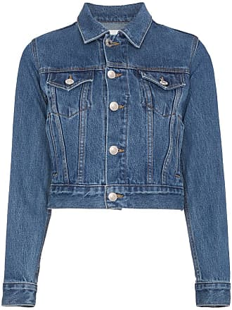 Re/Done Jaqueta jeans - Azul
