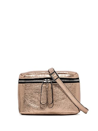 Gianni Chiarini galatea small champagne cross body bag