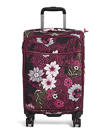 Vera Bradley Iconic Small Spinner, Bordeaux Meadow, One Size