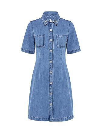 être cécile FLAMINGO A-LINE DRESS Light Blue