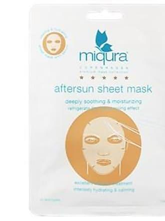 Miqura Pflege Golden Silk Collection Aftersun Sheet Mask White 1 Stk